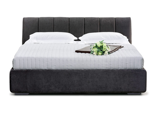 Ліжко Барбара Luxe 140x200 Чорний 2 -2