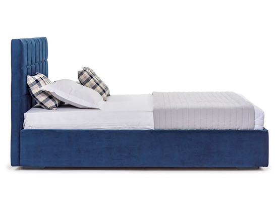 Ліжко Марта міні Luxe 160x200 Синій 2 -3