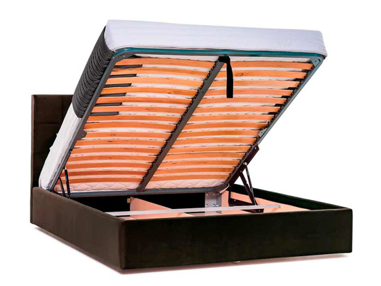 Ліжко Марта міні Luxe 180x200 Коричневий 2 -4
