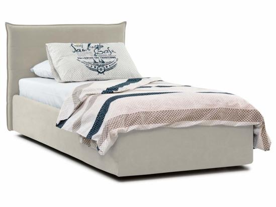 Ліжко Ніка Luxe 90x200 Бежевий 2 -1
