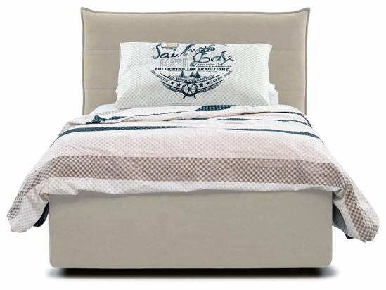 Ліжко Ніка Luxe 90x200 Бежевий 2 -2