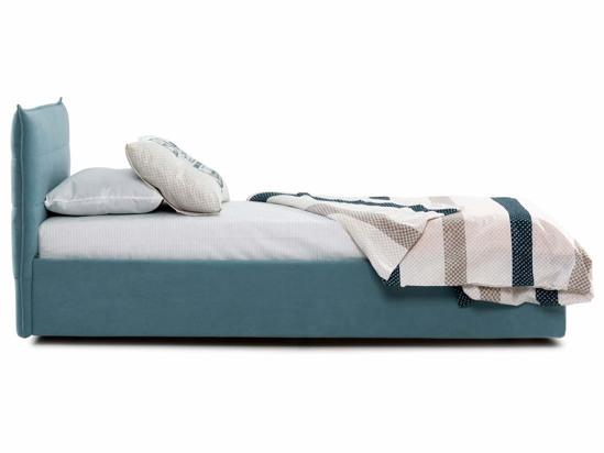 Ліжко Ніка Luxe 90x200 Синій 2 -3