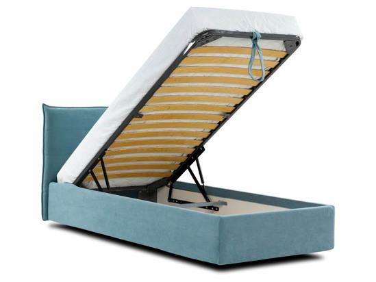 Ліжко Ніка Luxe 90x200 Синій 2 -4