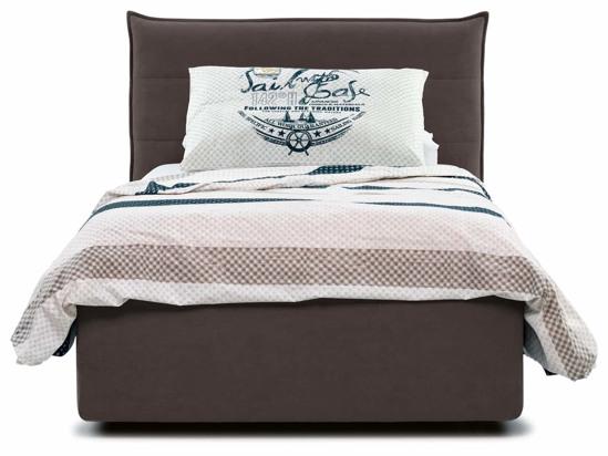 Ліжко Ніка Luxe 90x200 Коричневий 2 -2