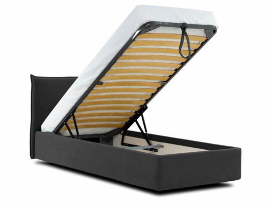 Ліжко Ніка Luxe 120x200 Чорний 2 -4
