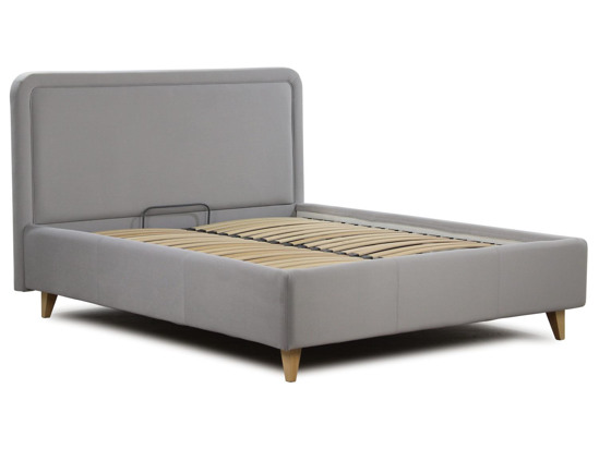 Ліжко Лорен 180x200 Сірий 1 -2
