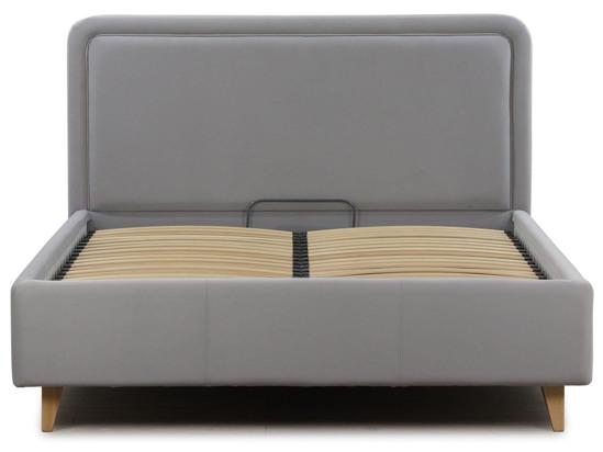 Ліжко Лорен Luxe 90x200 Сірий 2 -3
