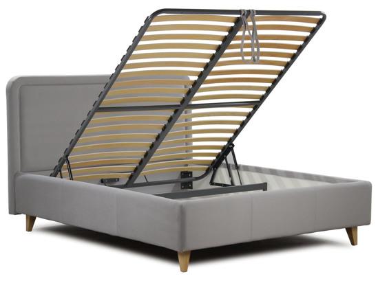 Ліжко Лорен Luxe 90x200 Сірий 2 -4