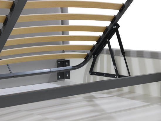 Ліжко Лорен Luxe 160x200 Сірий 1 -5