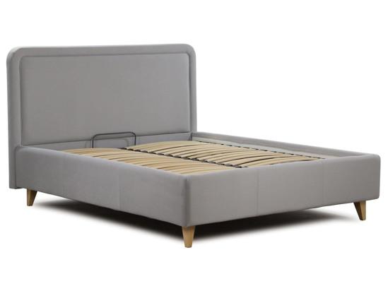 Ліжко Лорен Luxe 180x200 Сірий 1 -2